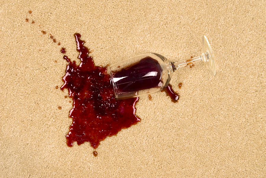 Carpet Cleaning Preston   Stain Removal   Image of wine spillage
