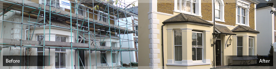 Apex Wall Coating Services - Before and After